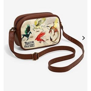 "Harry Potter Loungefly ""Magical Beasts"" Crossbody"